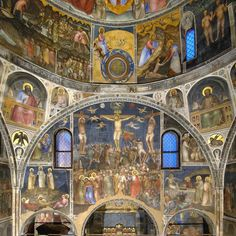 Ciclo di affreschi del Battistero della Cattedrale Painting, Religious Art, Italia, Painting Art, Paintings, Painted Canvas, Drawings