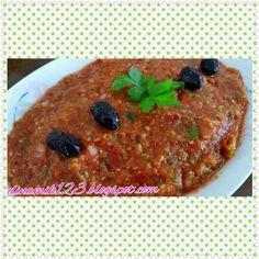LezizYemekler, Faydalı bilgiler: Acılı Ezme / bitter salad with Tomato