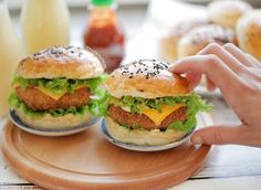 Sandwiches, Sunday Recipes, Food Design, Salmon Burgers, Hamburger, Easy Meals, Brunch, Favorite Recipes, Healthy Recipes