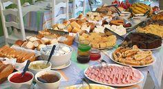 Desayuno como fiesta de cumpleaños