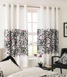 tende bianche decorate salotto