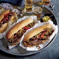 World Champion Steak Sandwiches | Chicago-Style Italian Beef Hoagies  | MyRecipes.com