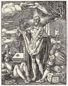 Albrecht Dürer - The Resurrection (The Small Passion), c. 1510