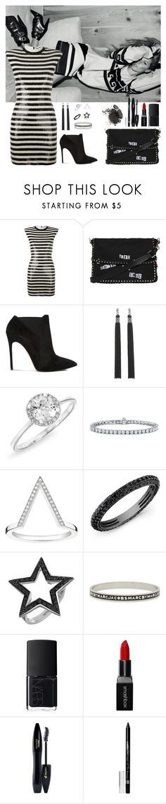 """Untitled #103"" by rafieldshow ❤ liked on Polyvore featuring Isabel Marant, Yves Saint Laurent, Valentino, Casadei, Anne Sisteron, Blue Nile, Thomas Sabo, Spallanzani, Marc by Marc Jacobs and NARS Cosmetics"