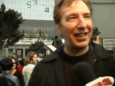 "Alan Rickman at the premiere of ""Galaxy Quest"", 1999"