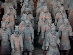 The Terra Cotta Army. You have to admit, it is impressive.