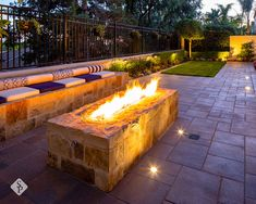 A backyard remodel should encompass elements that make your outdoor space the ideal retreat or oasis if you will. Elements featured in this project that were designed and installed by System Pavers include: natural stone paver sitting wall, dual candle wall, and fire pit, paver patio, courtyard, side yard and driveway, and energy efficient LED lighting throughout the front and back of the home.