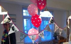 Personalised Hen Party Bunting via Etsy