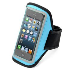 Aduro U-BAND Reflective Armband for Apple iPhone 5 (Turquoise) | Recent Cell Phones