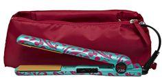 CHI Elite Jungle Rose Flat Iron With Pink Bag