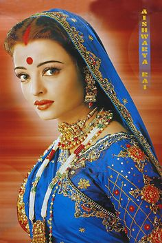 Aishwarya in Devdas    if you haven't seen it you should! Gorgeous film
