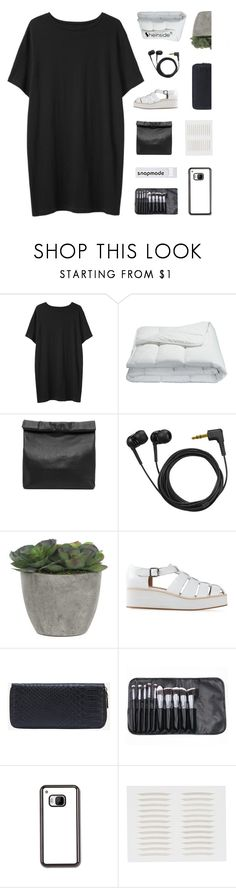 """""""the whole world turns to slow motion"""" by kristen-gregory-sexy-sports-babe ❤ liked on Polyvore featuring Organic by John Patrick, Frette, Marie Turnor, Sennheiser, Lux-Art Silks, Jeffrey Campbell and melsunicorns"""