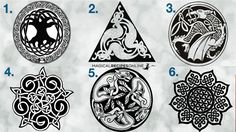 Choose a Celtic Sigil and see what it means for you. Through these celtic knots, magic can be manifested. Which one calls out for you ?