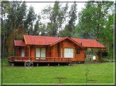 Cabin Homes, Log Homes, Cabana, Bamboo House, House Plans, Shed, Floor Plans, Cottage, Exterior