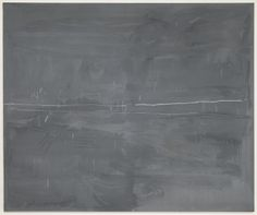 Cy Twombly - Untitled (Bolsena); 1969; oil, oil pastel, and pencil on canvas