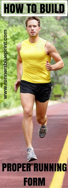 How To Build Proper Running Form - Your Checklist From Head to Toe — Runners Blueprint Best Running Shorts, Running Workouts, Running Tips, Running Training, Trail Running, Running Memes, Running Plan, Triathlon Training, Sports Training