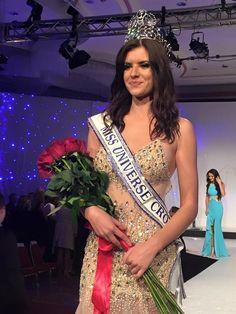 Barbara Filipovic crowned as Miss Universe Croatia 2016