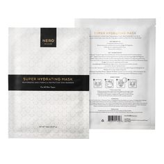 "NER:D Skincare Super Hydrating Mask Pack (3 Masks), <span class=""price"">$56.00</span> #birchbox"