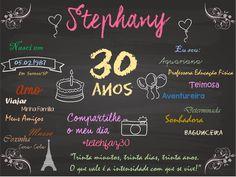 Chalkboard 30 anos!!!!