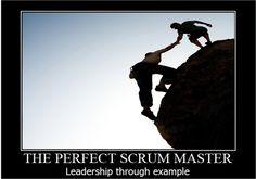 Servant Leadership  Fuente:  http://agilescout.com/the-perfect-scrummaster-job-description/