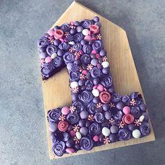 Mini Wedding Cakes, Mini Cakes, Alphabet Cake, 1st Birthday Cakes, Number Cakes, Food Crafts, Gingerbread, Cake Recipes, Birthdays