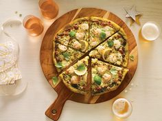 Friday dinner made easy: pizza Pasta Pizza, Sauce Pesto, Quelque Chose, Vegetable Pizza, Quiche, Make It Simple, Oui, Films, Dinner