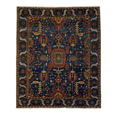 """Ziegler, Hand-Knotted Area Rug - 8' 5"""" x 9' 10"""""""