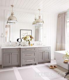 Get bathroom design ideas for your next reno!   Photographer: Virginia Macdonald   Designer: Cory DeFrancisco
