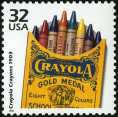 Now located in Easton, Pennsylvania, Binney & Smith, makers of the iconic Crayola Crayons, set up headquarters in New York City in 1880. They manufactured pigments, and in 1903 produced the famous Crayola Crayons.