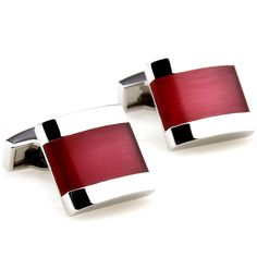 red and black cufflinks - Google Search