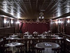 Where the spirit of Wild Bill Hickok still lurks. The sitting manager of the theater heard a disembodied voice whisper into her ear in the room next door.