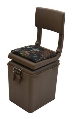 Seats and Chairs 52507 Wise Outdoors Super Sport Hunting Padded Seat With Insulated Cooler C&ing  sc 1 st  Pinterest & Seats and Chairs 52507: New! Swivel Hunting Blind Chair Guide Gear ... islam-shia.org
