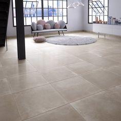 Carrelage gris Sonara 60 x 60 cm | Carrelages | Pinterest | Salons ...