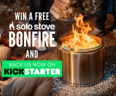 Help me win the world's most unique fire pit | @solostove Bonfire. This cool fire pit got funded in 2 hours on Kickstarter!