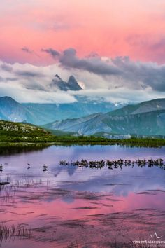 Lake Guichard, French Alps (by vincent viargues on 500px)