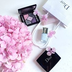 Who else is addicted to Dior Beauty? Credit: trendique #Diorvalley #Dior #Hydrangeas #DiorBeauty #Vernis