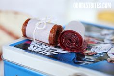 Rolled up Fruit Roll Ups