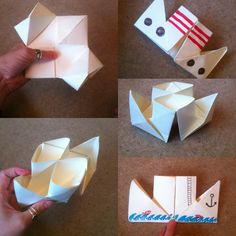 21 papercraft ideas The steamboat (part 2 of 2)