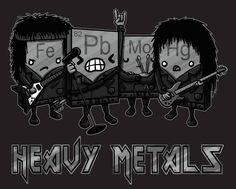 Heavy metals. (Credit: Bill @ChemMarketeer)