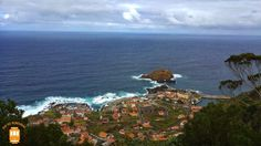 Porto Moniz is a small town mostly known for its natural pools of volcanic origin.