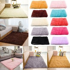 Shop For Cheap Multicolored Carpet Floor Bedroom Floor Mat Anti-skid Dining Room Home Sofa Fluffy Rugs Warm Chair Wool Carpet Wool Living Room Less Expensive Home & Garden