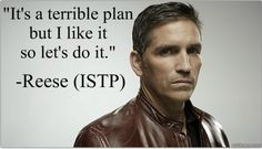 Look What The Cat Dragged In | Person of Interest MBTI Types: John Reese