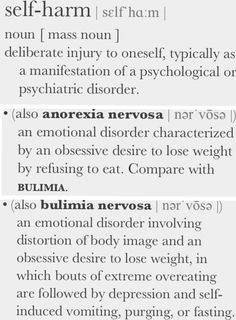 Some people have a hard time believing these are actual DISORDERS.