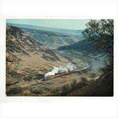 K1 2005 heads North Newtondale 1993. N.Yorkshire Moors Railway postcard used Listing in the Rail,Transportation,Postcards,Collectables Category on eBid United Kingdom