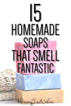 15 Homemade Soap Recipes that Smell Amazing - Mommy Thrives - Homemade Soap Recipes – DIY Homemade Soap Recipes – 15 Homemade Soaps That Smell Fantastic - Soap Making Kits, Soap Making Recipes, Soap Making Supplies, Homemade Soap Recipes, Mold Making, Sent Bon, Lipgloss, Bath Soap, Bath Salts