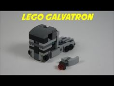 LEGO Transformers Mini Soundwave Tutorial [Awesome] - YouTube