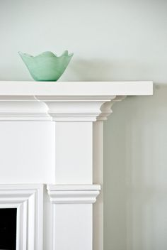 Nice fireplace trim detail