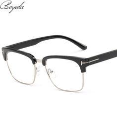 Brand Half Frame Female Eyeglasses Men Vintage Eye Glasses Frame for Women Optical Spectacle Frame Reading Prescription Eyewear