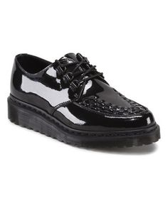 This Black Beck Leather Oxford by Dr. Martens is perfect! #zulilyfinds