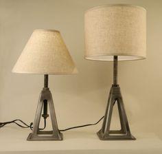 Car Jack Table Lamp Main Image